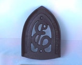 Antique TRIVET Cast Iron from Early 1900 39 s - 6, Unusual or Perhaps Rare (ENTERPRISE) St. Louis, Mo not Phila. USA