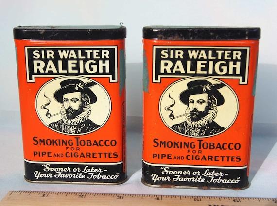 Dating sir walter raleigh tobacco tins