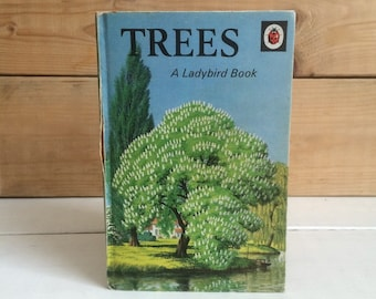 1970s Ladybird Book 'Trees' Series 536 - Matt Finish