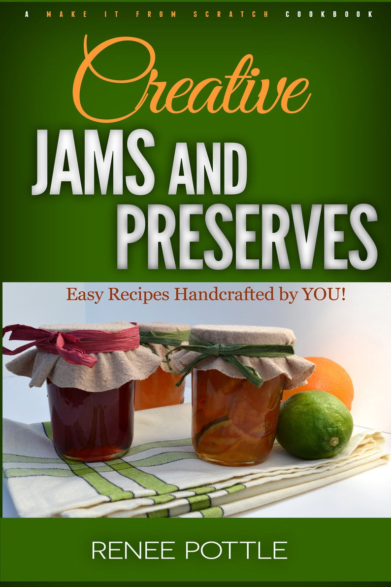 Creative Jams and PreservesCanning BookEasy image 0