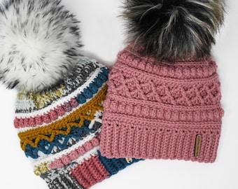 crochet pattern hat