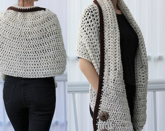 Crocheted wrap  0e45ebe70