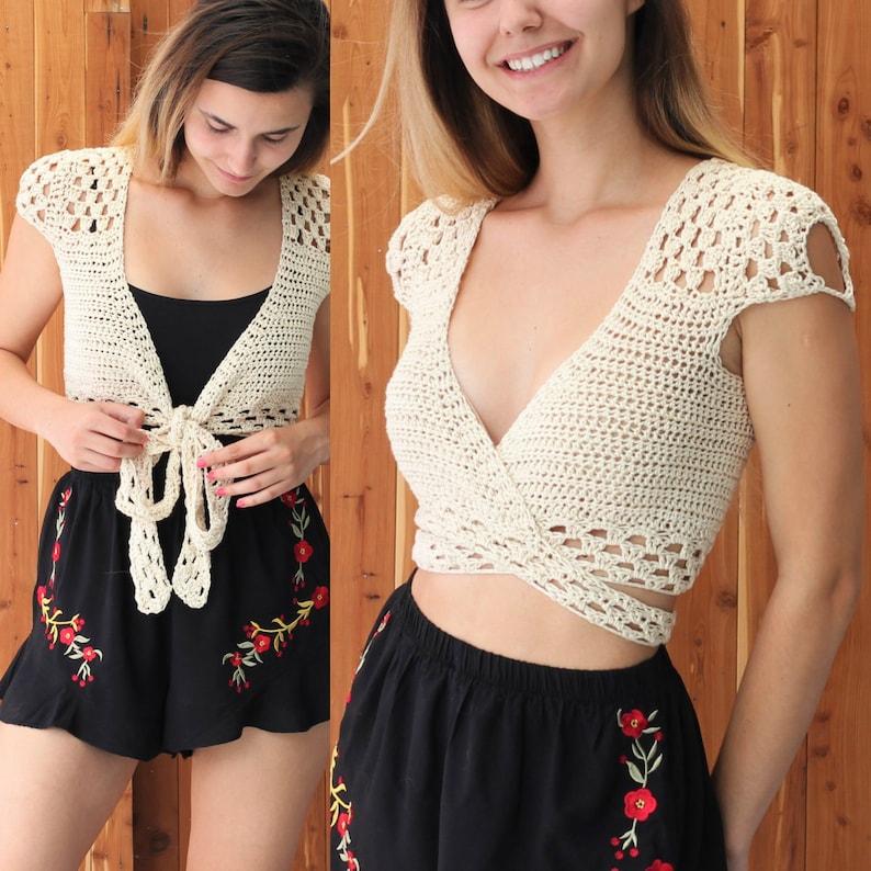 Crochet Top pattern PDF Crochet pattern ADORA crochet top image 0