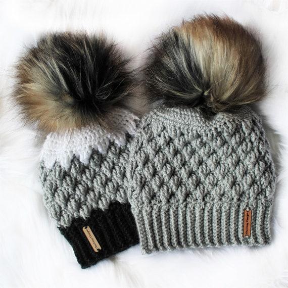 Easy Crochet pattern-Crochet hat MEGAN Beanie Hat  54693fc72f2