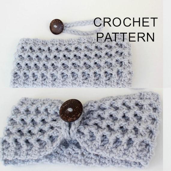 Crochet Pattern PDF Patron de crochet LIDA Turban Ear   Etsy