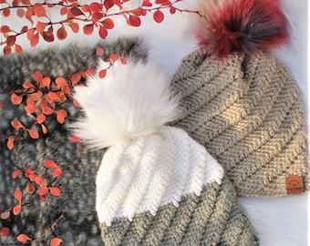 Easy Crochet hat pattern- Crochet Hat–SKYLAR Beanie Hat Bonnet, Crochet pattern PDF, Crochet beanie, (Toddler - Child – Teen- Adult size)