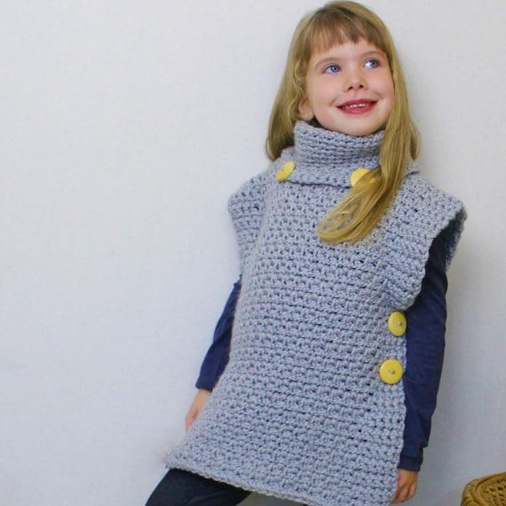 Crochet Pattern Patron Crochet Jadee Crochet Poncho Pattern Etsy