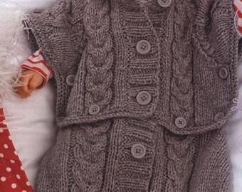 Sleeping bag-knitted sleeping bag