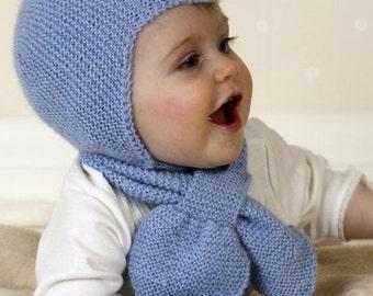 Baby Knitting cap-scarf-Alpaca Glove