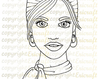 Digital Stamp- Looking Good - Jpeg and Png images for cards and crafts by Erica Bruton