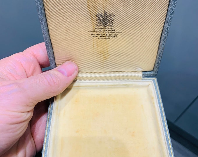 Antique Asprey & Co Ltd jewellery storage box
