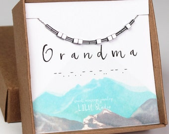 Grandmother necklace, grandma gift, grandma necklace, gifts for grandma, grandma bracelet, Mothers day gift, grandmother bracelet, gift idea