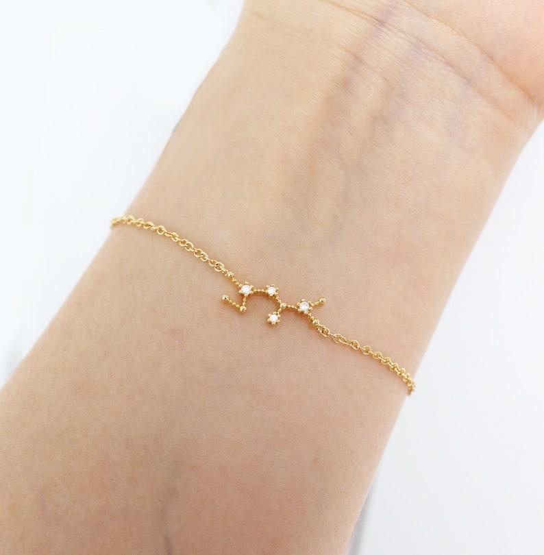Horoscope jewelry, zodiac bracelet, Sagittarius zodiac, constellation  bracelet, horoscope bracelet, zodiac jewelry, Sagittarius horoscope