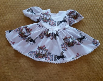 Spanish Romany Baby Girl White Satin Frilly Pants with Lace Detail
