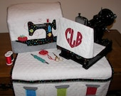 Featherweight Singer 221 Machine Head Cover, Bed Cover and Instructions forSewing Mat Pdf Download