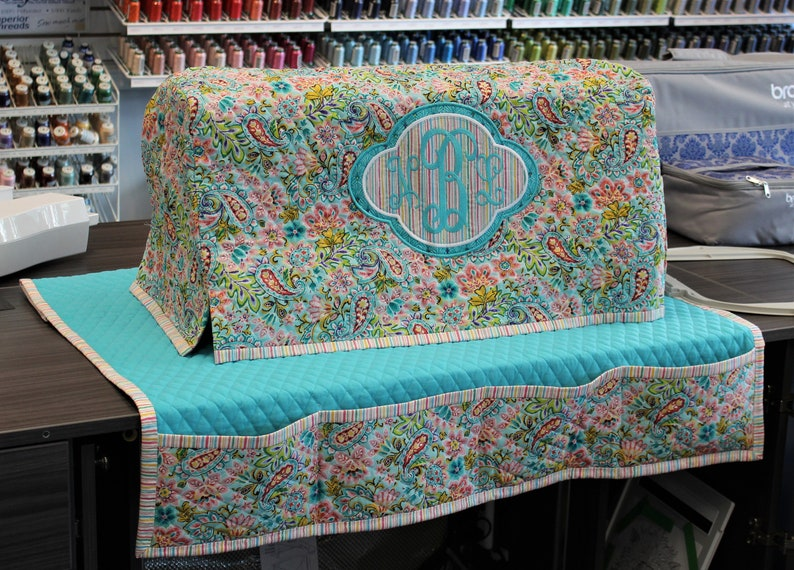 Brother Luminaire Machine Cover Pdf Pattern, Baby Lock Solaris Machine  Cover Pdf Pattern, Instructions for sewing Mat