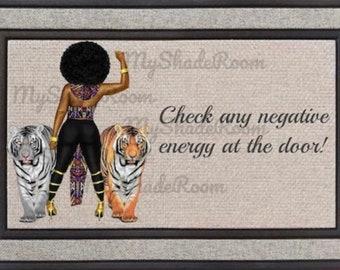 Outside Door Mat Leave Negative Energy at the Door