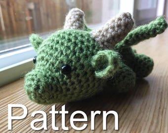 Baby Dragon - Free Crochet Pattern Review - Stitch11 | 270x340