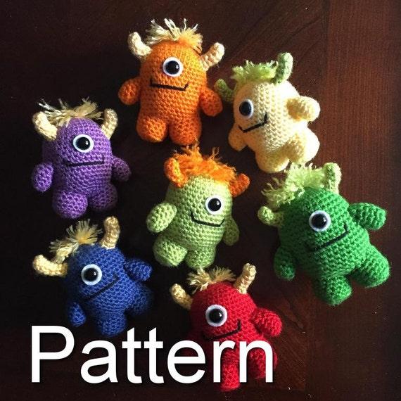 Amigurumi Monsters Book Review | Crochet monsters, Crochet ... | 570x570