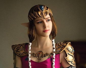 Twilight Princess from LoZ cosplay crown, Princess of Hyrule Zelda tiara