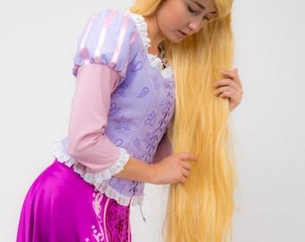 Rapunzel Dress Adult Etsy