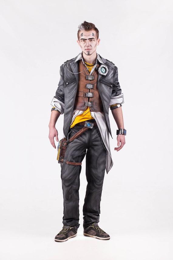 Halloween Costume Handsome Jack Cosplay Costume From Borderlands 2 Video Game