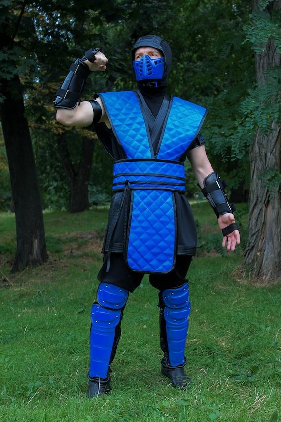 Reptile Cosplay Costume Mortal Kombat Klassic arcade ninja skin Costume Convent MK Assassin Outfit Fighter Costume Geek Fest Costume Idea
