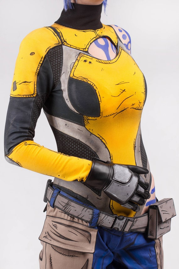 Maya cosplay costume from Borderlands 2 video game, Halloween costume