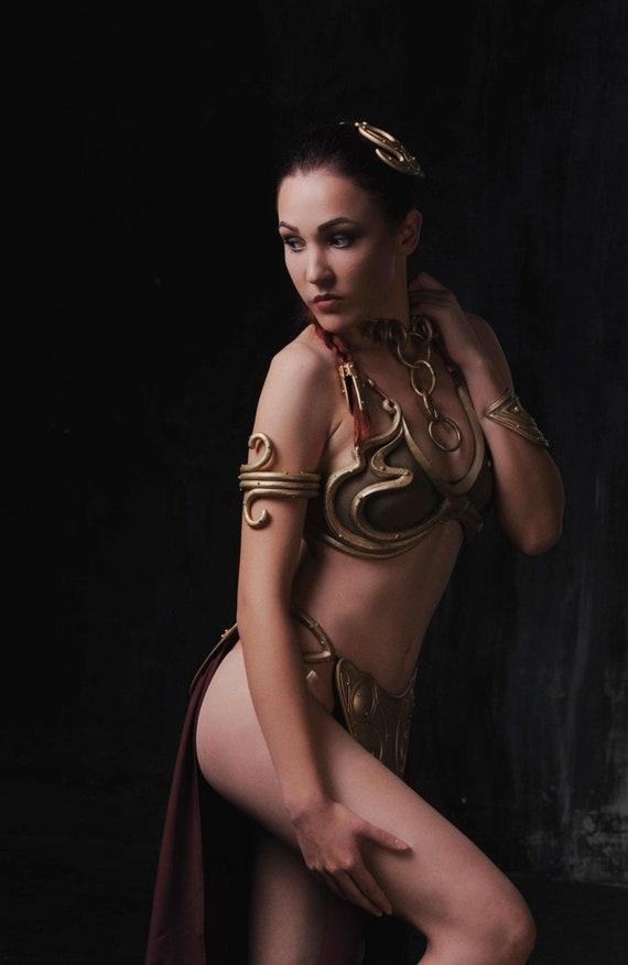 Princess Leia Organa Slave Bikini Costume From Star Wars Etsy