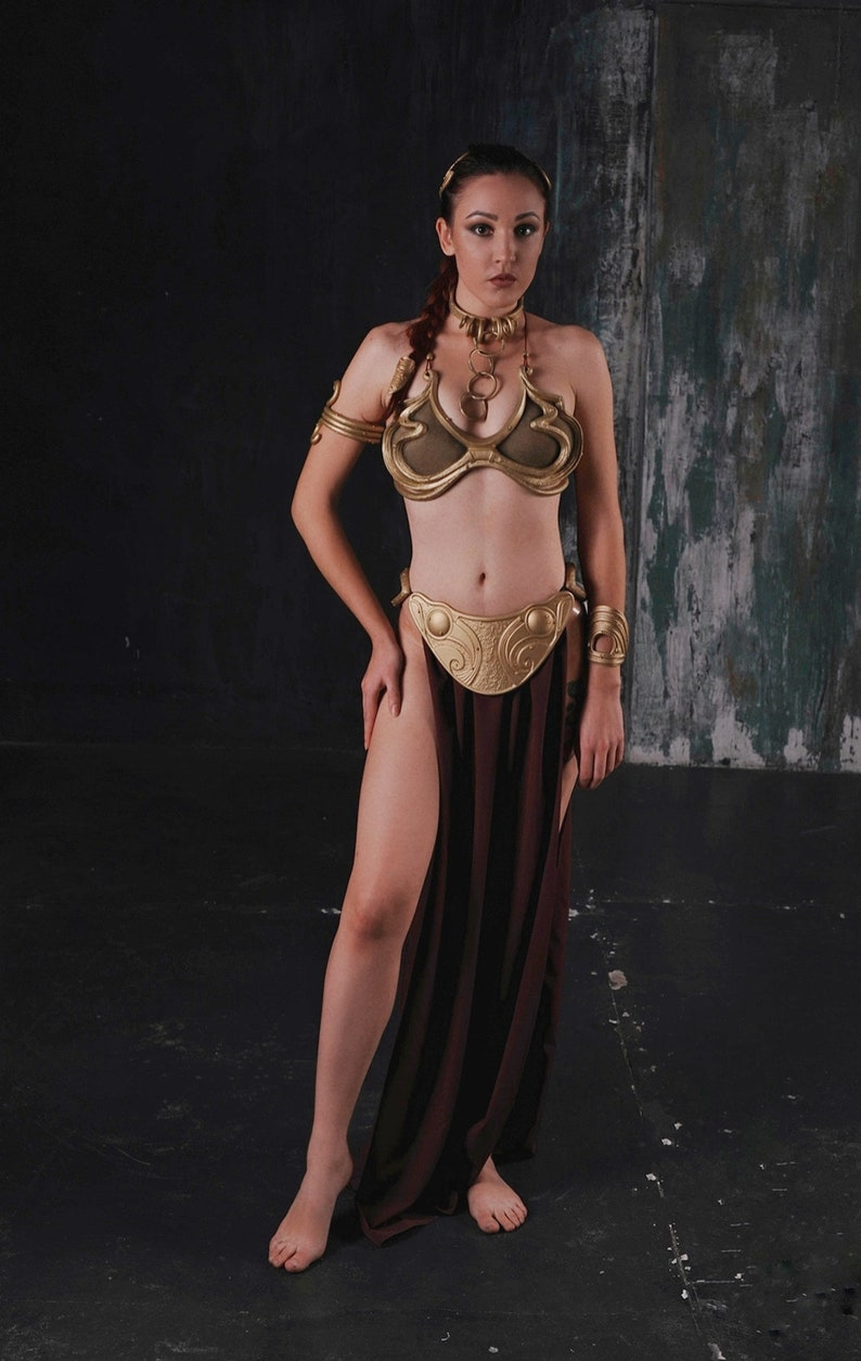 Adult sexy princess leia halloween costume