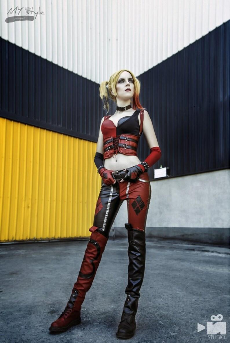 6ff97df4 Harley Quinn cosplay kostuum Joker meisje Batman DC comics | Etsy