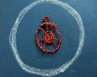 Real Magick Sigil Pendant for Power and Protection made by Matrix Programmer