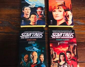 Lot Of 4 Star Trek Pocket Books