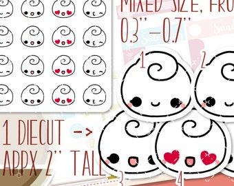 Emoji planner stickers, love stickers, emoticon stickers, social media stickers, happy stickers, erin condren GOP019