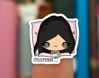 Insomnia stickers  / Planner Stickers /  JOP635