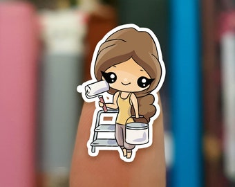 Painter stickers  / Planner Stickers /  JOP931
