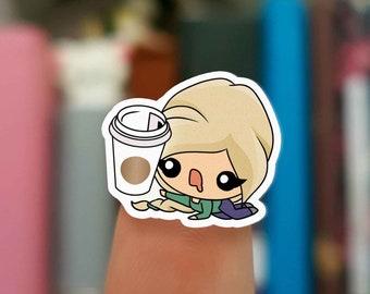 Coffee stickers / Planner Stickers /  JOP171
