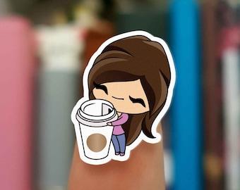 Coffee stickers / Planner Stickers /  JOP170
