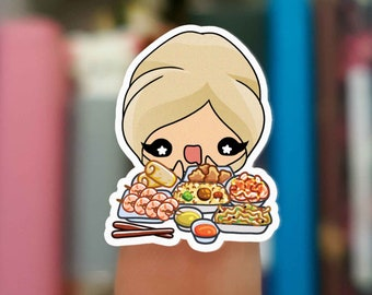 Chinese food stickers  / Planner Stickers /  JOP034