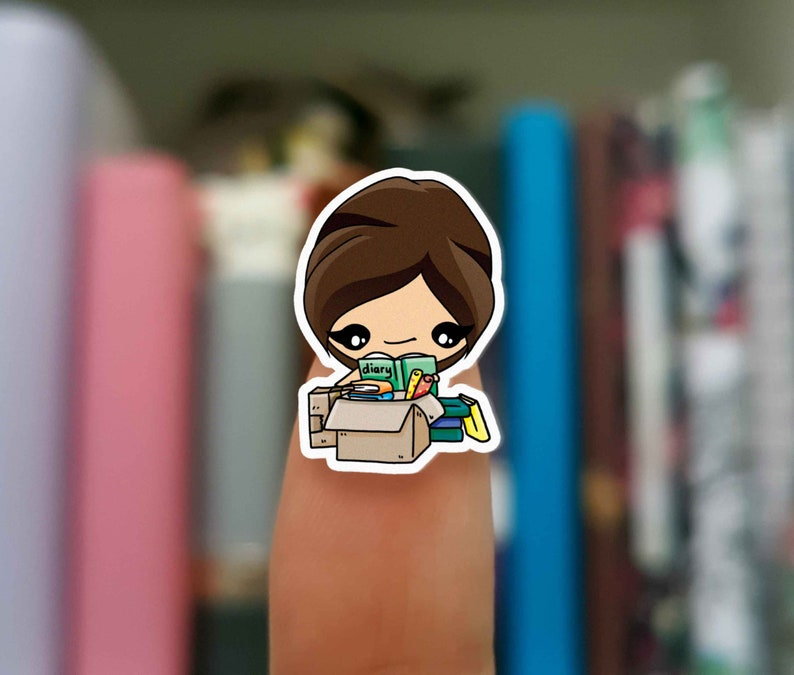 Moving stickers / Planner Stickers / JOP370 image 0