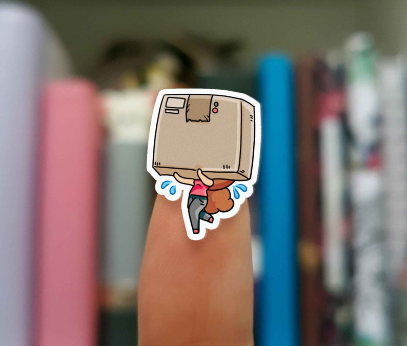 Moving stickers / Planner Stickers / JOP367 image 0