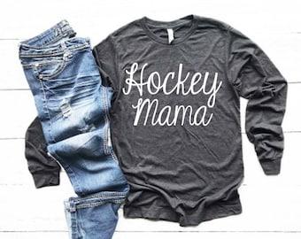 10646b54c79 Hockey mom shirt