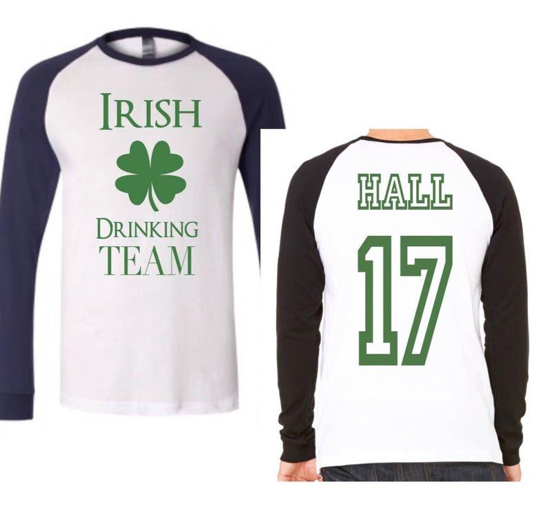 dd4fea6c Irish drinking team st. Patricks day shirt team shirts st | Etsy