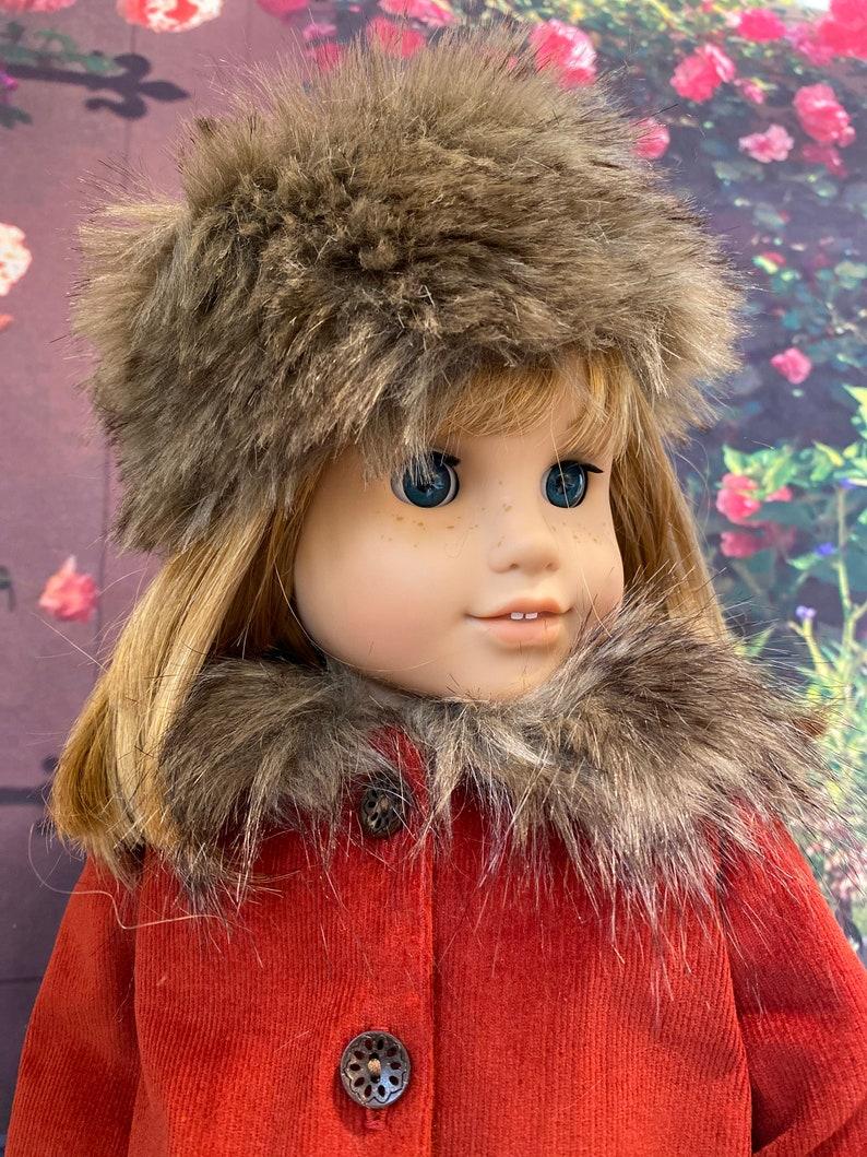 Fall Breezes Coat and Hat  fits American Girl Dolls