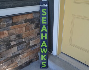 Seattle Seahawks Wood Sign