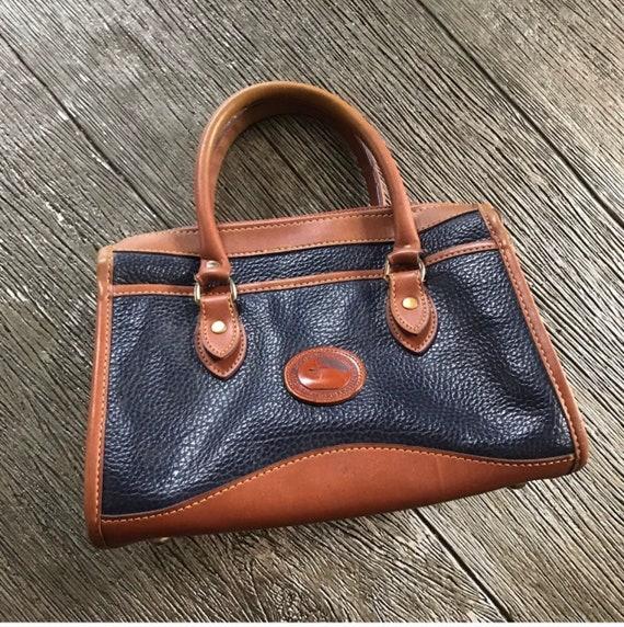 Dooney & Bourke Leather Classic Satchel Vintage