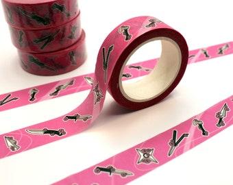 Sakura Blades Washi Tape 1.5cm x 10m