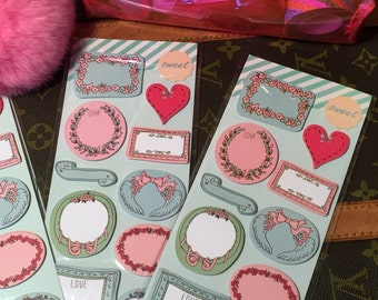 Romantic Sticky Notes- 1 Full Pack!