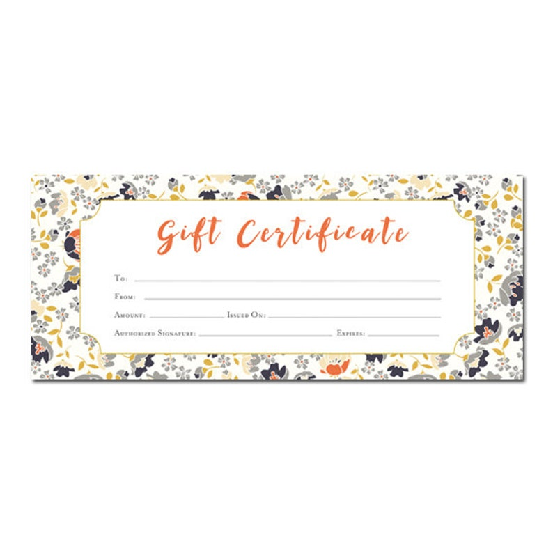 It is a graphic of Superb Printable Gift Certificates Online