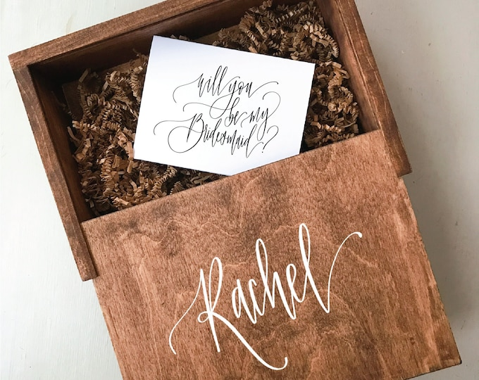 Bridesmaid Proposal Gift Box - Will You Be My Bridesmaid Gift Box - Bridal Party Gift Box Set - Gifts for Bridal Party - Gift Box - Gifts